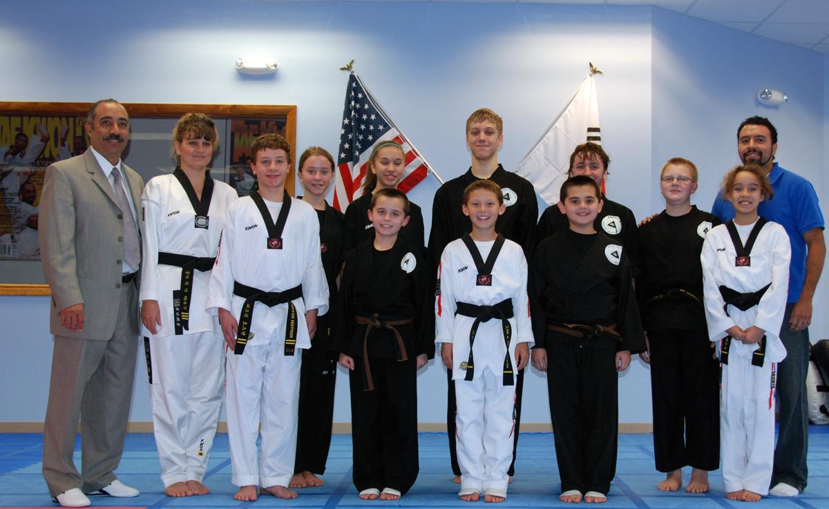 Black Belt Promotions November 13th 2011