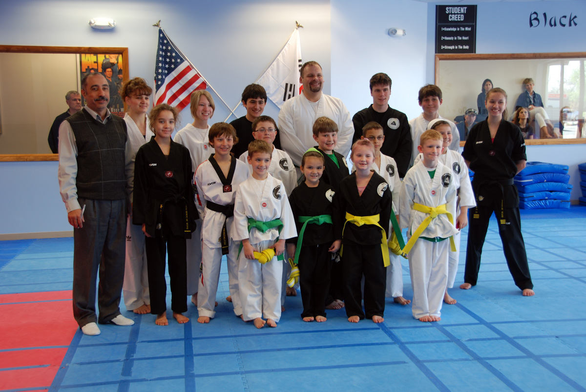 Congratulations for the new belt promotions