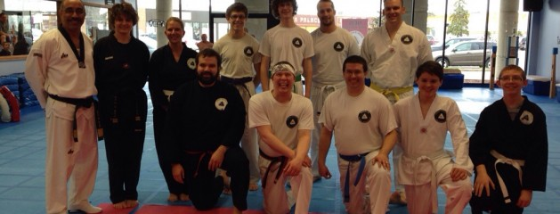 "Angel's karate ""Tae Kwon Do"" adults team"