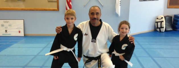 Congratulation to the latest white belt