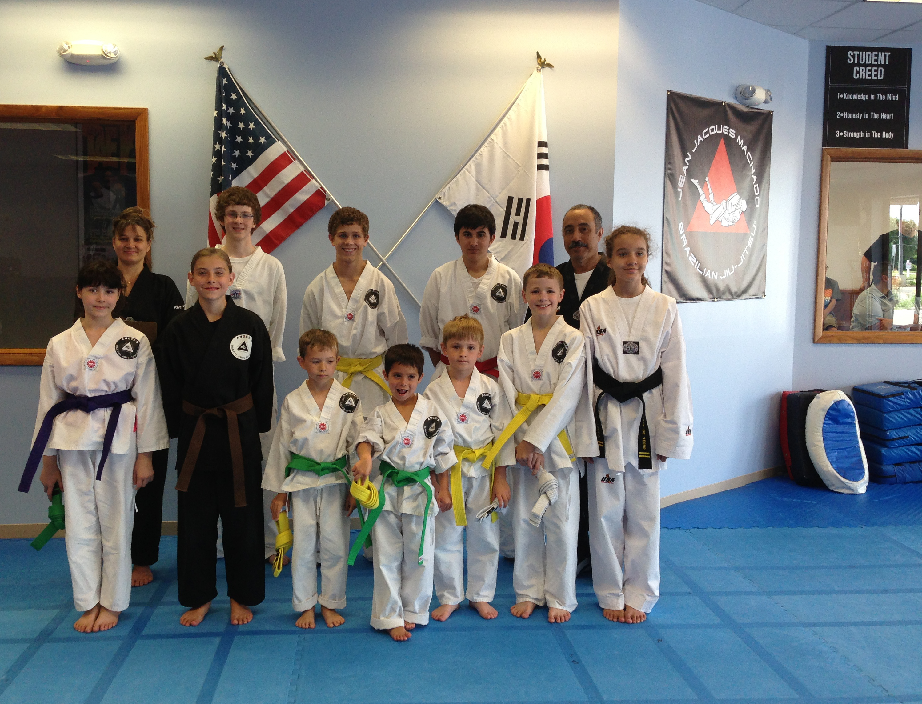 Another Exciting Taekwondo Promotion at Angel's Karate