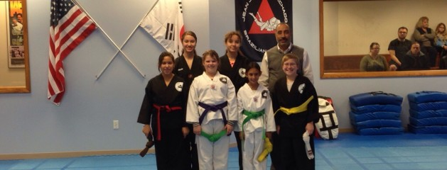 Angel's Karate Promotion 11-17-2013