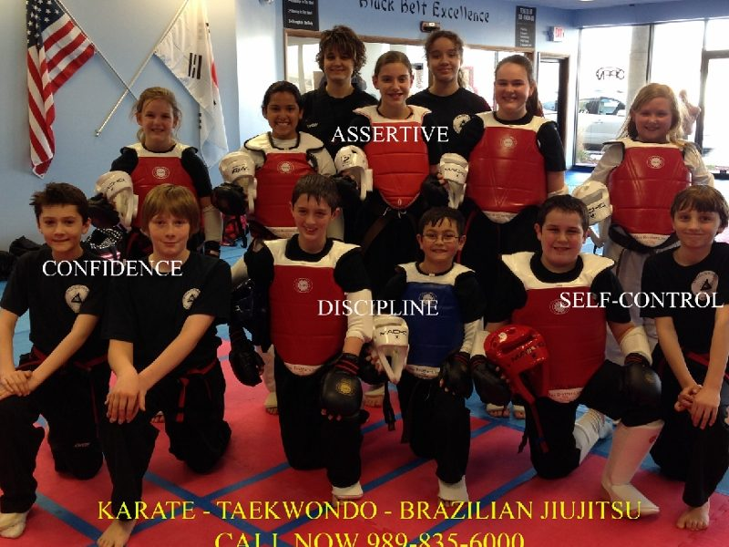 "Angels karate ""taekwondo"" Builds Confidence"